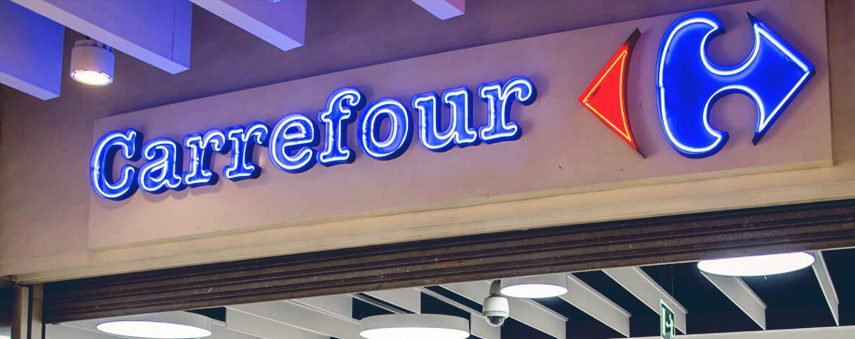 Blockchain tracking is increasing sales for French retailer Carrefour