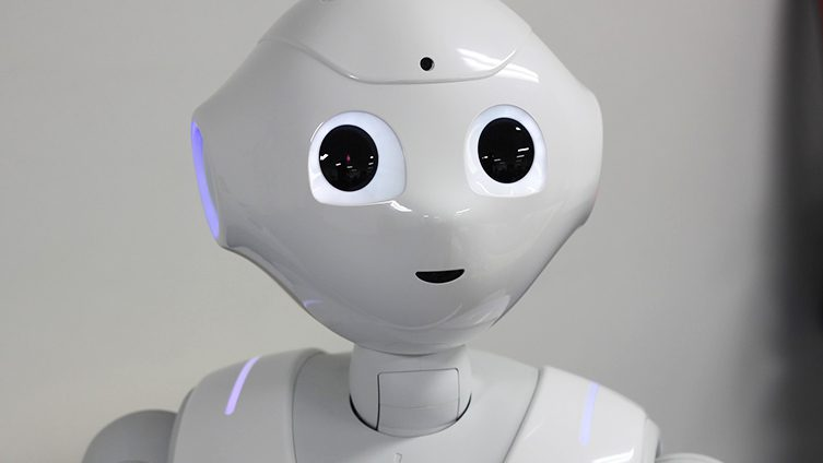 Pepper is the world's first social humanoid robot