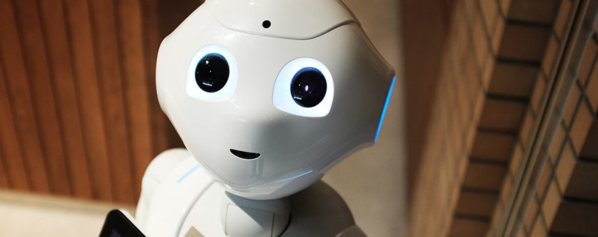 Pepper the robot uses AI to get to know you