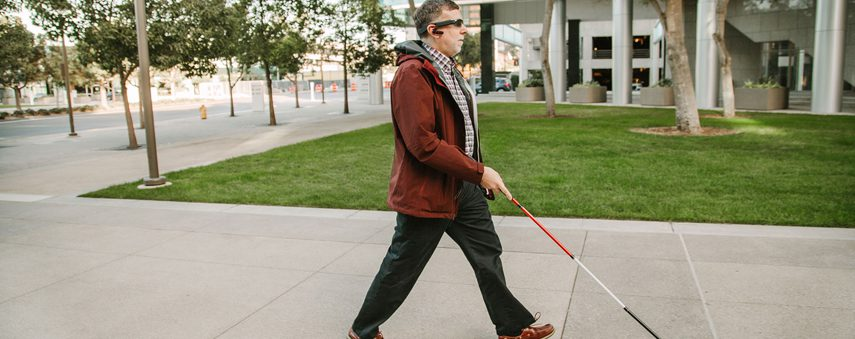 AI is assisting the visually impaired with Aira technology