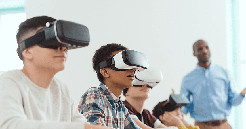 VR, Beyond Reality, Revolutionising education with VR and intelligent platforms