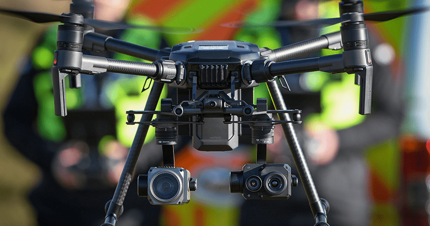Drones, AI, Police Scotland launch smart drones to find missing people