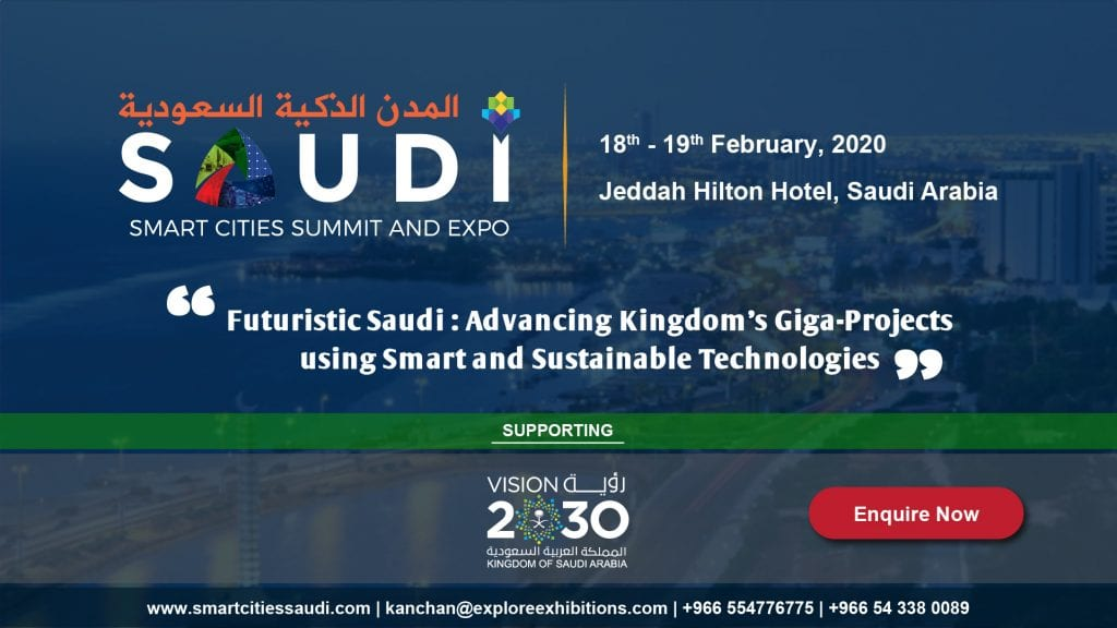 , Smart Cities, Saudi Smart Cities Summit & Expo 2020