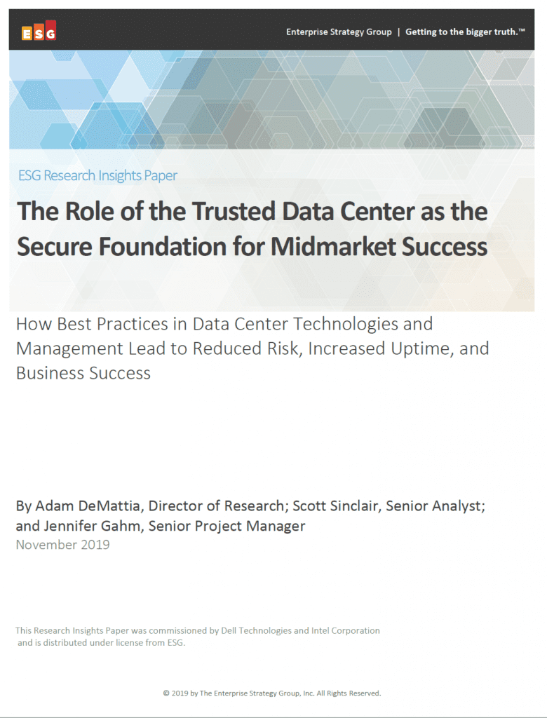 , , The Role of the Trusted Data Center as the Secure Foundation for Midmarket Success