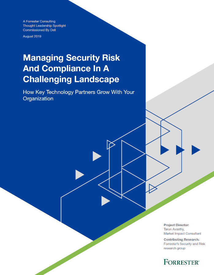 , , Managing security risk and compliance in a challenging landscape by Forrester