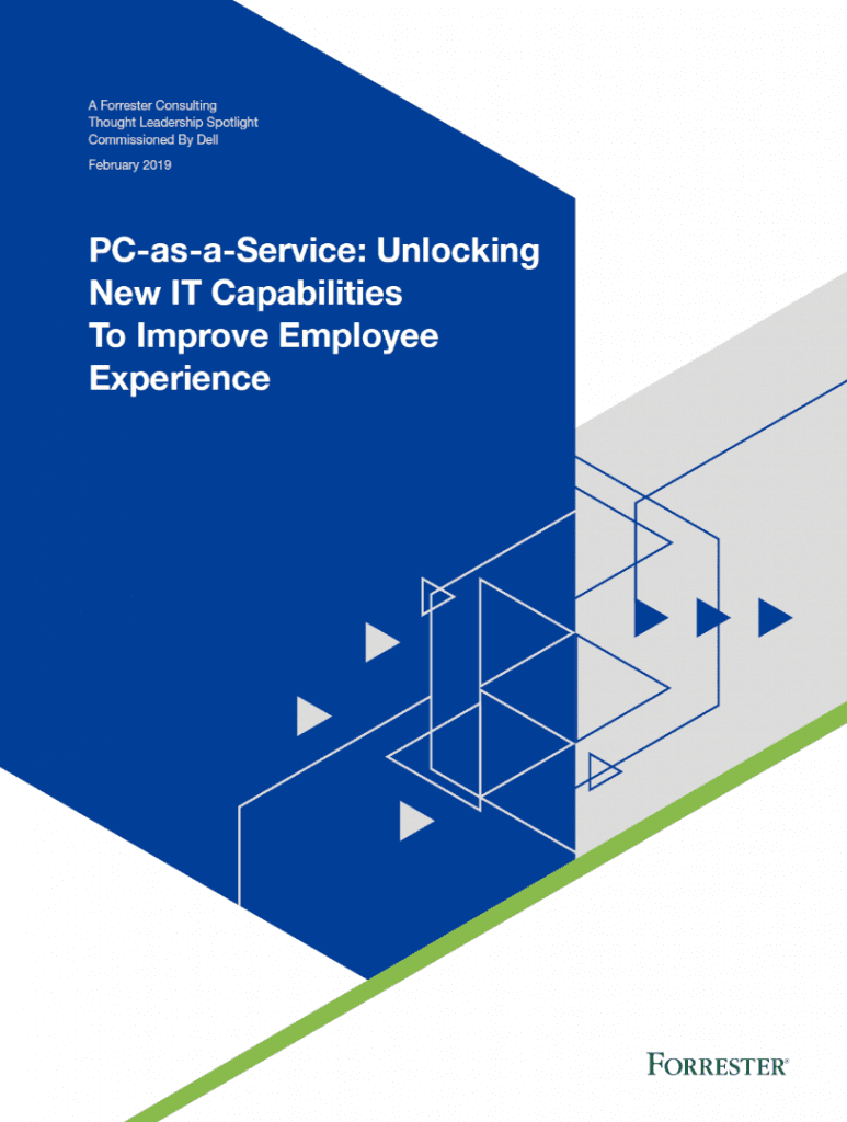 , , PC-as-a-Service: Unlocking New IT Capabilities To Improve Employee Experience