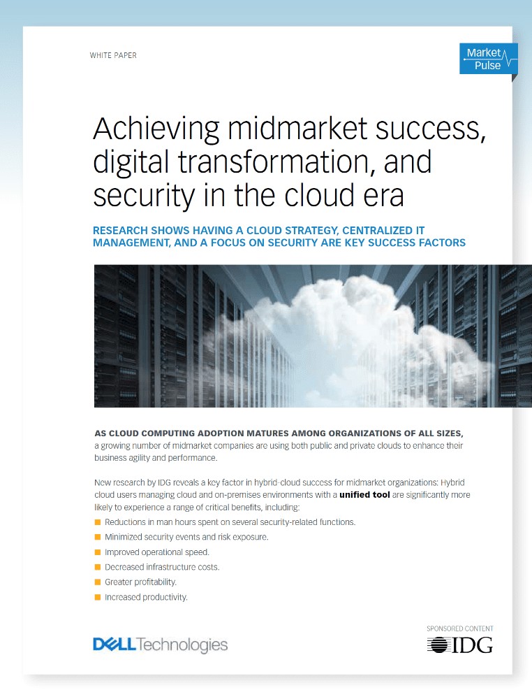 , , Achieving midmarket success, digital transformation, and security in the cloud era