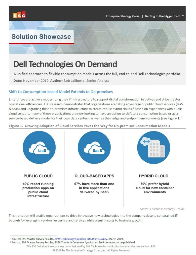 , , Dell Technologies On Demand