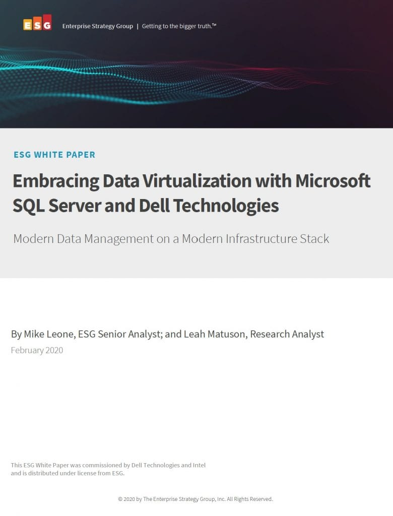 , , Embracing Data Virtualization with Microsoft SQL Server and Dell Technologies