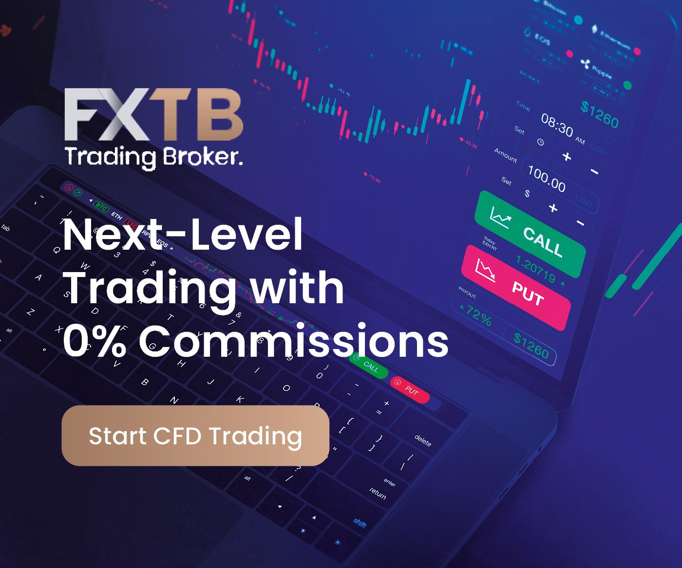 , , Next Level Trading with ForexTB, the premier platform for CFD Trading!