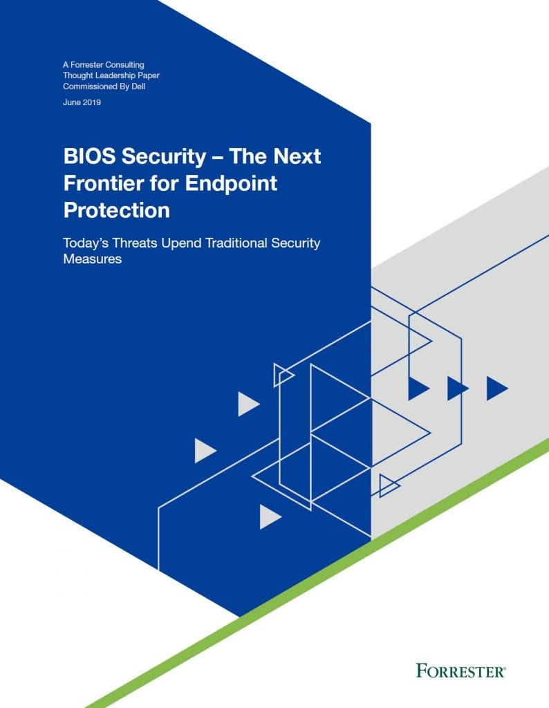 , , BIOS Security - The Next Frontier for Endpoint Protection