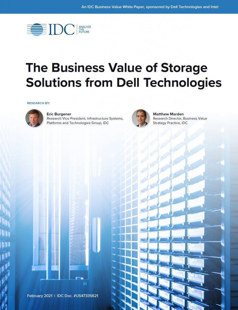 , , The Business Value of Storage Solutions from Dell Technologies