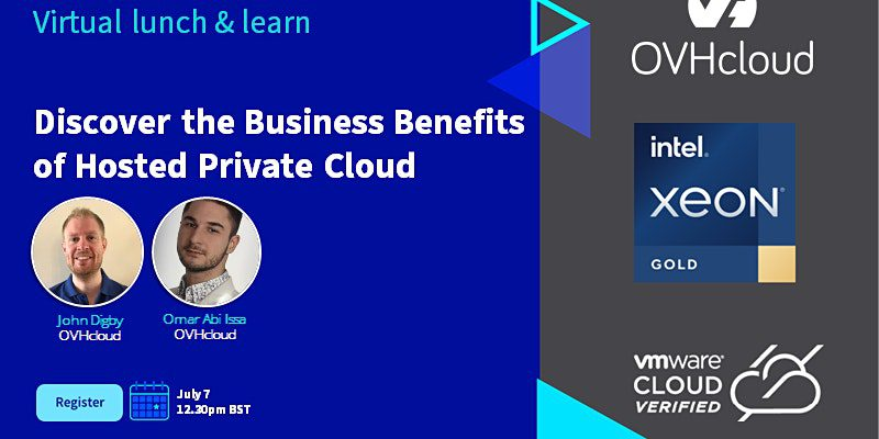 , , OVHcloud Virtual Lunch- 7th July